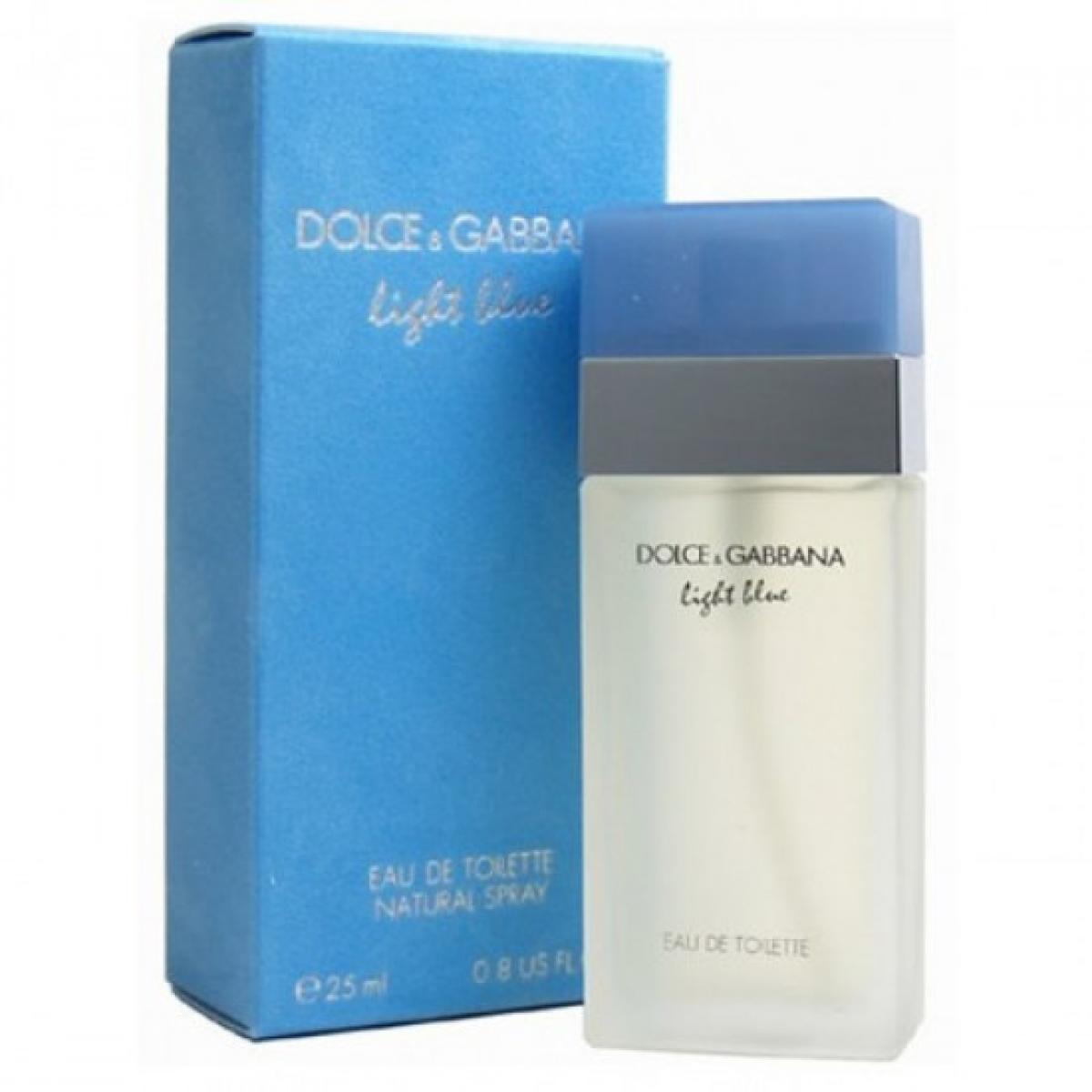 9dea33279a443 DOLCE   GABBANA LIGHT BLUE EDT 25ML